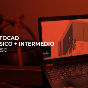 AUTOCAD BÁSICO + INTERMEDIO PRESENCIAL